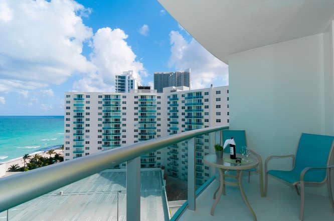 Apartamento 1 Dormitorio / 1 Baño Vista al Mar hasta 4 Pax